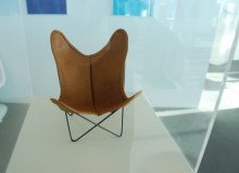 1 in 100: the BKF Hardoy chair, also known as the Butterfly chair, on display at the German Consulate General Toronto.
