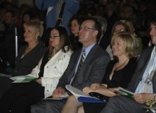 Audience members at the 2010 Green Toronto Awards.