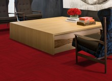 """Red Carpet Collection"" is the newest member of InterfaceFLOR's Convert design platform and has a premium level of post-consumer content of up to 38 percent."