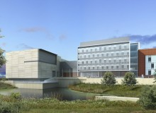 Diamond & Schmitt Architects' Automotive Centre of Excellence combines teaching, research and commercial testing.
