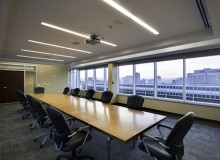 Conference room. Photo by Jesse Colin Jackson.