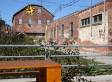 Evergreen Brick Works, a 120-year old former Toronto brick works site transformed into a community environmental center focused on creating a greener future.