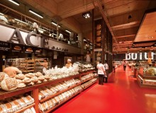 Winner of an Australian Interior Design Award 2012, in the Retail Design category, is Landini Associates for Loblaws Maple Leaf Gardens in Toronto.