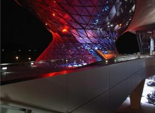 BMW Welt. Photo by Anton Schedlbauer