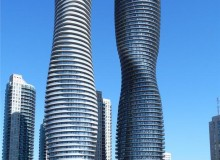 1st place: Absolute World Towers in Mississauga, Ont., designed by MAD and Burka Architects; photo by Edvard Mahnic