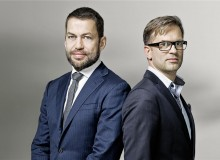 The Mutabor men: Johannes Plass and Heinrich Paravicini, who founded the agency. Photo courtesy Mutabor