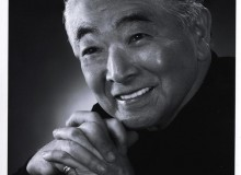 A great man: portrait of Raymond Moriyama courtesy of Moriyama & Teshima Architects