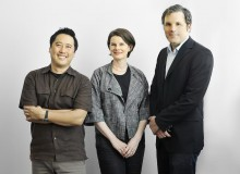 Three-part harmony (from left): Donald Chong, Betsy Williamson and Shane Williamson, principals of Williamson Chong