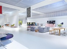 The Vitra space in Milan