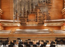 Organ, Maison Symphonique. Photo by Photographie Panatonic