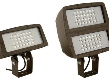In the spotlight: two new LED floodlights from Hubbell Outdoor Lighting, the FLL and FXL