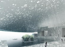 Louvre Abu Dhabi by Jean Nouvel (installation of the product, Paralum)