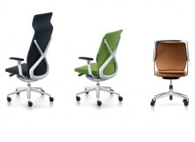COMFORT AT WORK With its patented technology and innovative backrest design, Crossline moulds to the body, supporting the spine without restricting or influencing movement