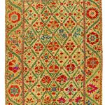 Wall hanging, Uzbekistan, 19th century. Gift of the Volunteer Committee of the Textile Museum of Canada, T04.13.1