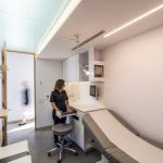 Ergonomic examination rooms. Photo credit: Raphaël Thibodeau