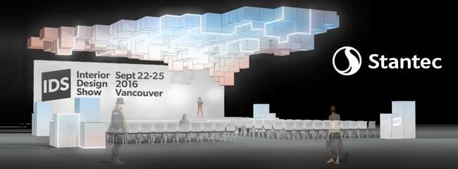 Stantec to design caesarstone stage for ids vancouver for Interior design show vancouver 2016