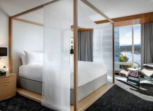 Master Bedroom. Photo credit: Fairmont Pacific Rim
