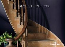 Benjamin Moore reveals its Colour of the Year 2017 – Shadow 2117-30, a rich, royal amethyst. (CNW Group/Benjamin Moore)