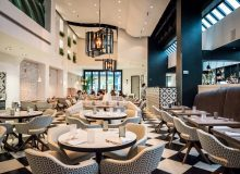 Planta, a vegan restaurant by Chase Hospitality Group located in the tony neighbourhood of Yorkville in mid-town Toronto, was furnished with ISA International's Maestro Grand and a custom version of the Utopia Arm chairs.