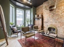 Merchant Sons at 273 Richmond St. West is styled as a welcoming home to create an immersive brand experience (CNW Group/Merchant Sons)