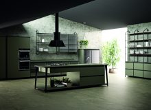 Diesel Open Workshop Kitchen, Scavolini