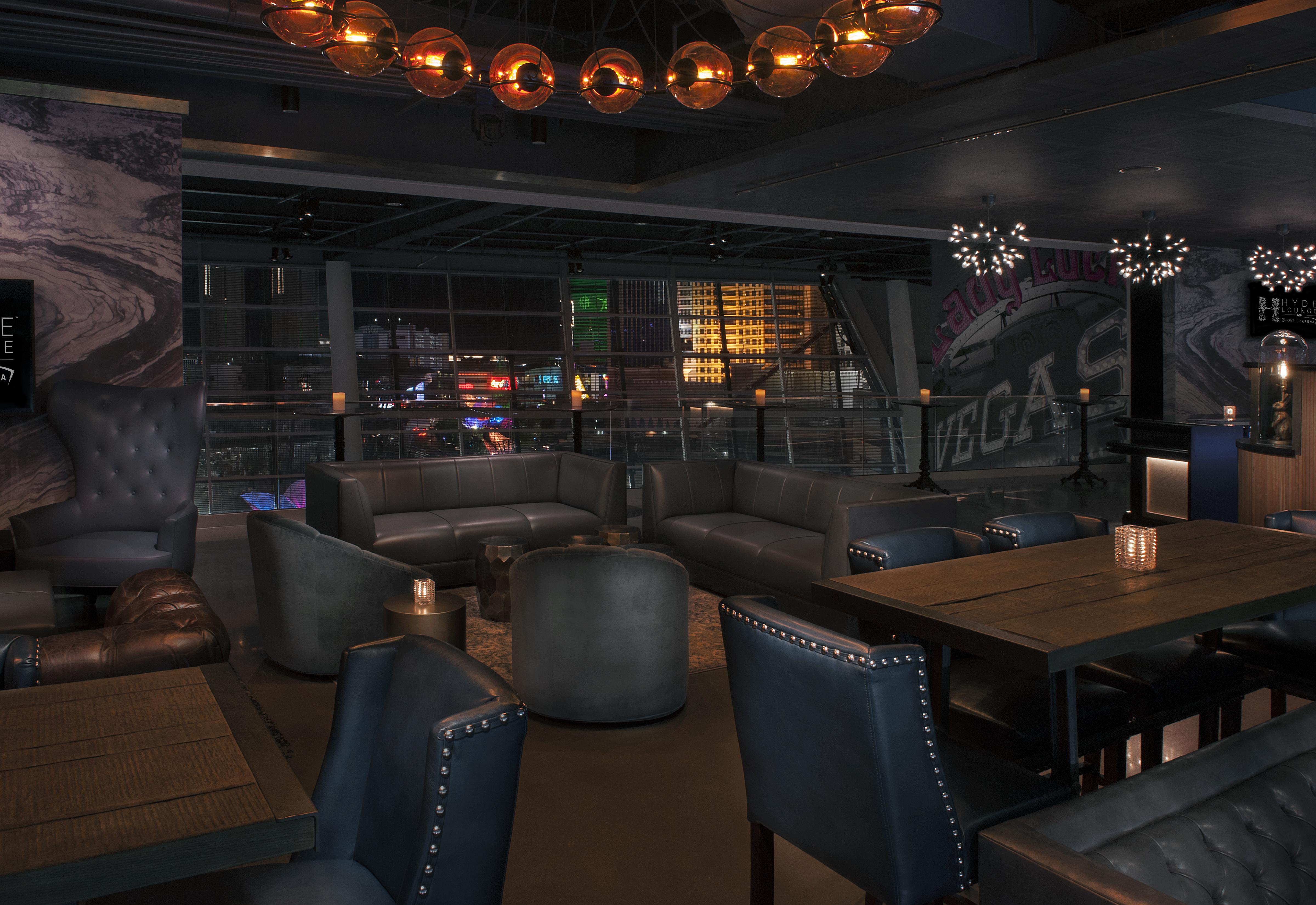 The Hyde Lounge, T-Mobile Arena, Las Vegas, DesignAgency