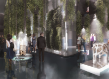 Carlo Ratti's rendering showcases his vision for urban living by blurring the boundaries between city and nature. Photo credit: Carlo Ratti Associati