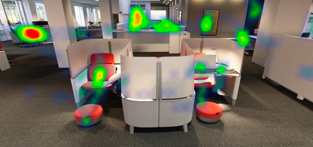 Yulio VR heat map