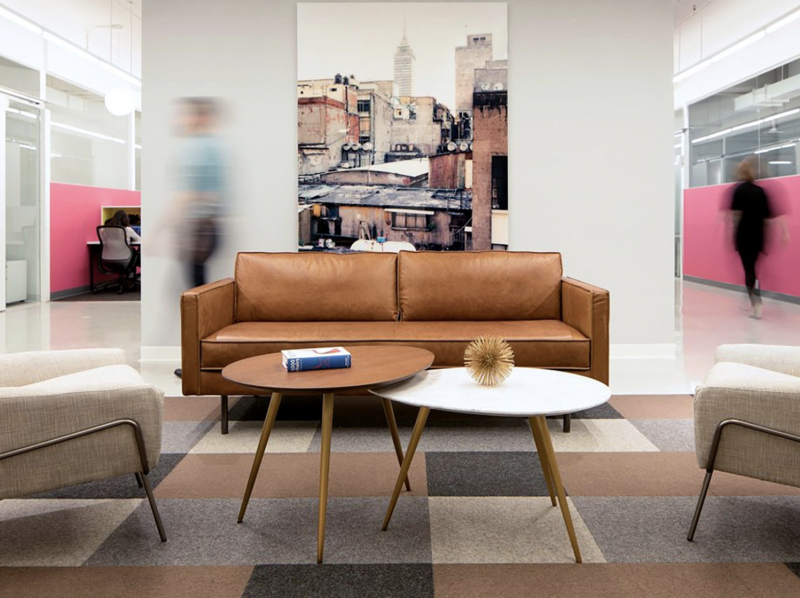 West Elm + Inscape's The Yard in New York City, image via West Elm Workspace