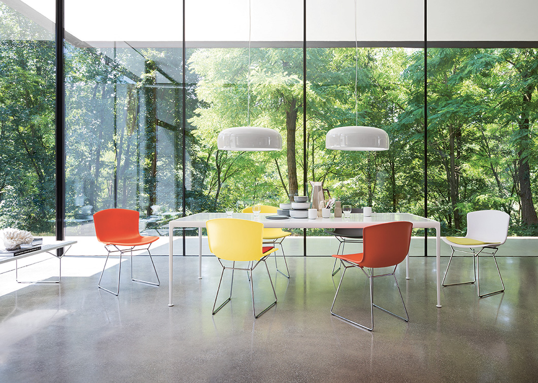 Molded Shell Chair, Knoll, Harry Bertoia