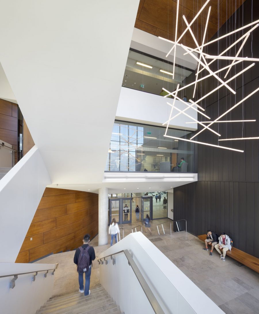 Lazaridis Hall, Waterloo, Diamond Schmitt, WoodWORKS!