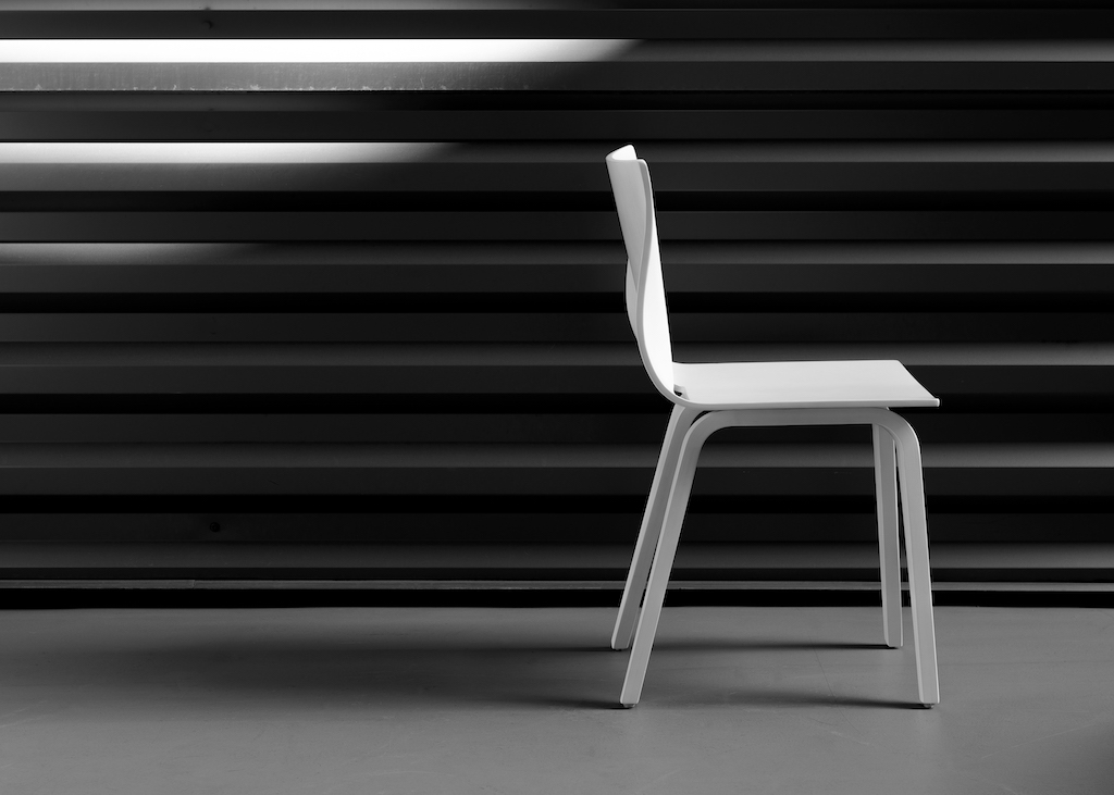 V Chair, by MUForm, NeoCon