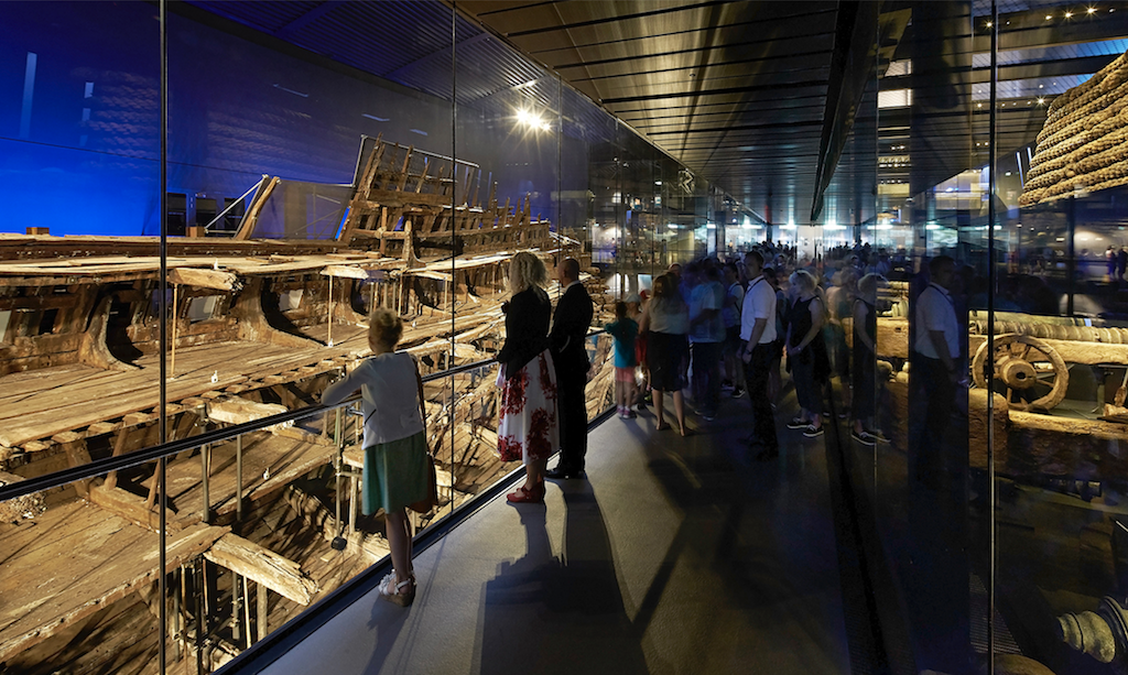 INSIDE World Festival, Perkins+Will_Mary Rose Museum Photo credit: Civic Culture & Transport