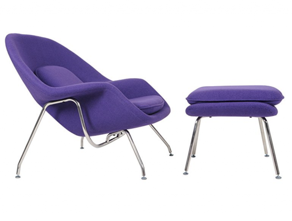 MLF's Ultra Violet Eero Saarinen chair. Image via MLF