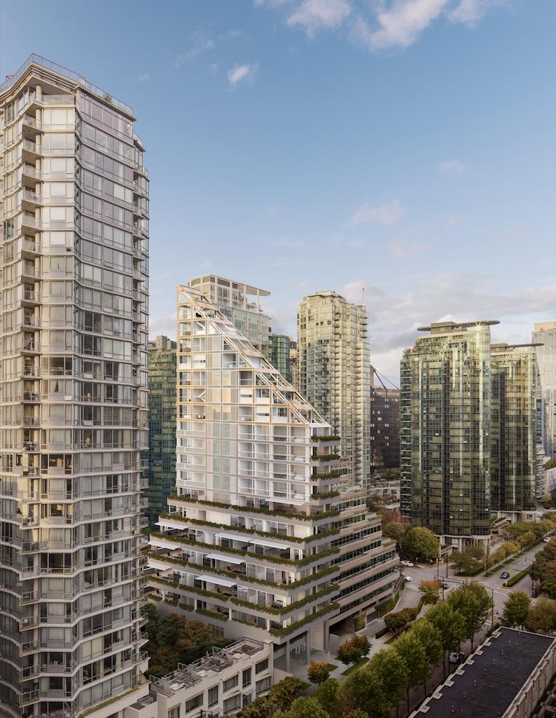 Terrace House, Vancouver, Shigeru Ban.
