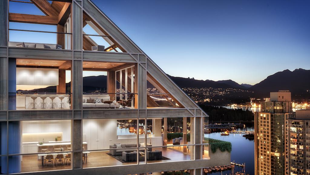 Terrace House, Vancouver, Shigeru Ban, Port Living