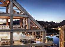 Exterior rendering. Image via Port Living.