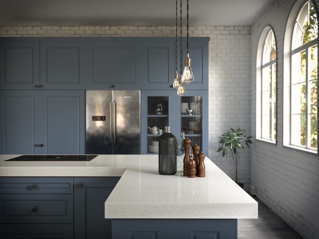 Dekton Vienna. Photo courtesy of Cosentino.