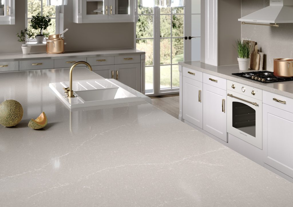 Silestone Desert Silver. Photo courtesy of Cosentino.