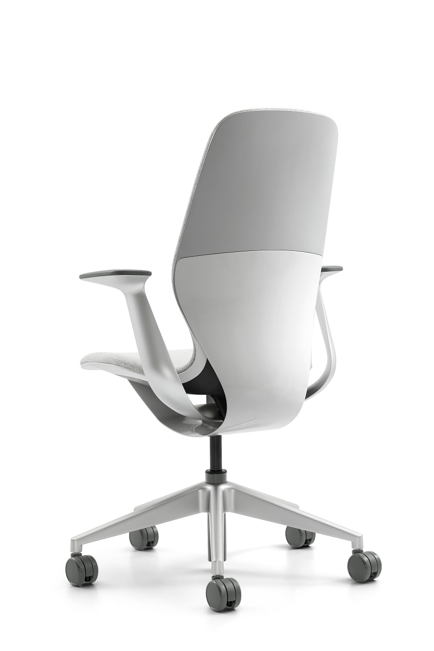 steelcase introduces innovative silq polymer chair. Black Bedroom Furniture Sets. Home Design Ideas