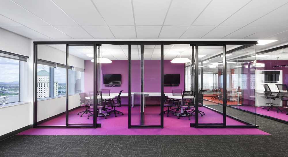 Vad designers complete new montreal work space for national bank