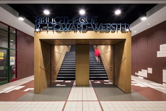 Webster Library, Concordia University, Menkès Shooner Dagenais LeTourneux Architectes, Montreal