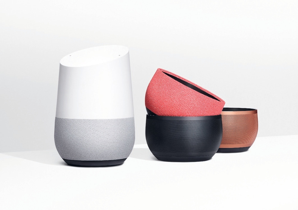 Google Home. A Red Dot 'Best of the Best' winner.
