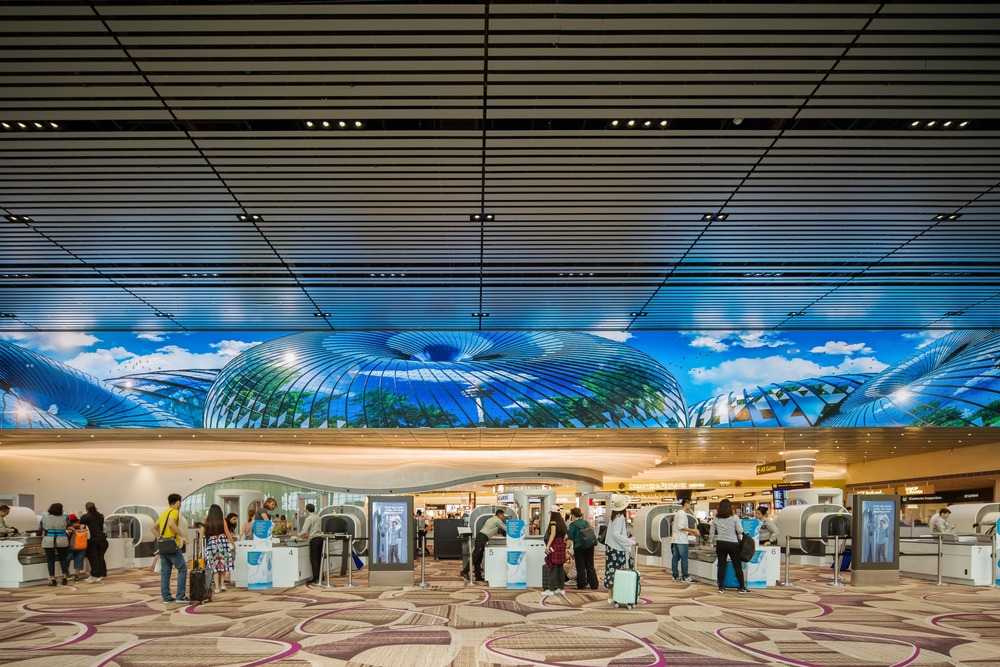Changi Airport, Moment Factory