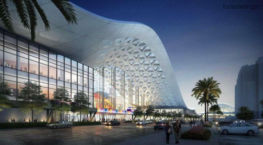 Las Vegas Convention Centre. Image via tvsdesign.