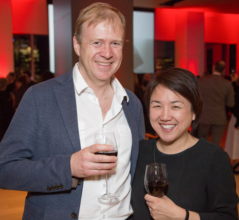 Life and business partners Philip Hastings and Valerie Gow of Gow Hastings Architects, who met while they were students at UBC.
