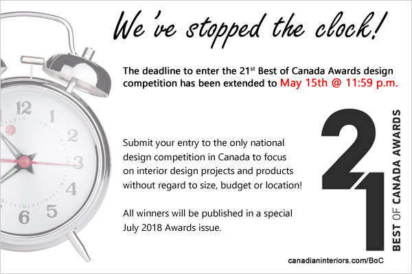 Best of Canada, deadline