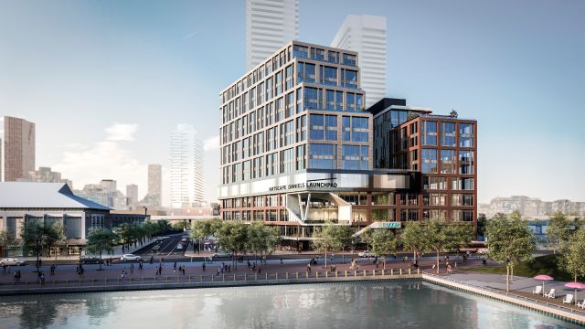 HXOUSE, Daniels Waterfront, Launchpad, Artscape, Quadrangle