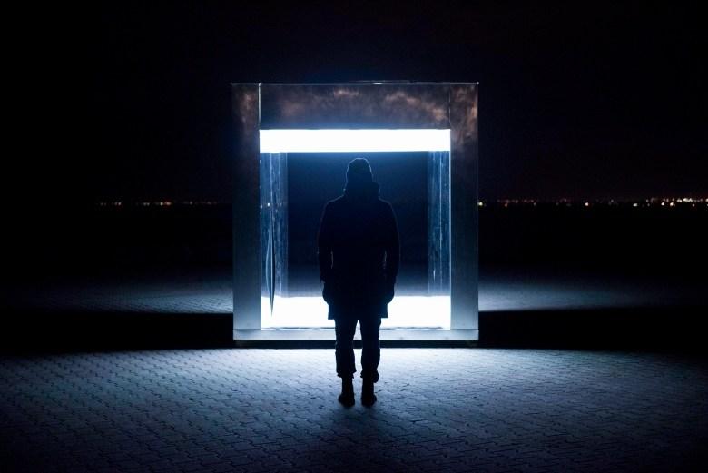 A Winter Light 2017 installation. Image via Ontario Place Corporation.