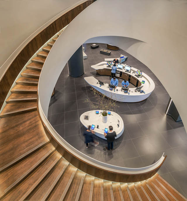 Samsung Experience Store, CF Eaton Centre, Quadrangle Architects, Toronto